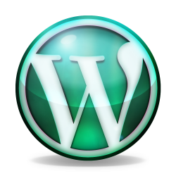 Green orb WordPress logo