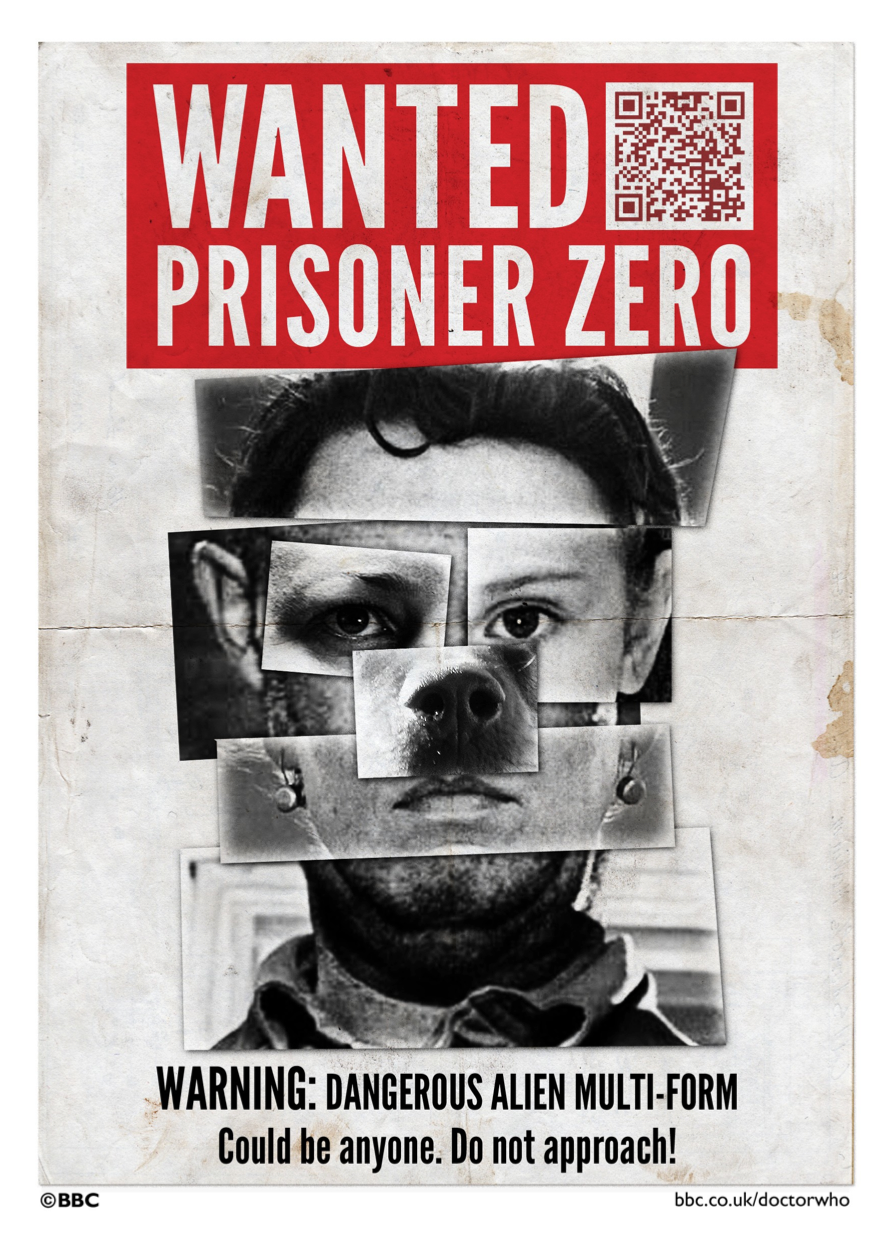 Prisoner Zero wanted poster